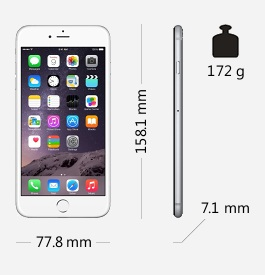 Parametry smartphonu Apple iPhone 6 Plus