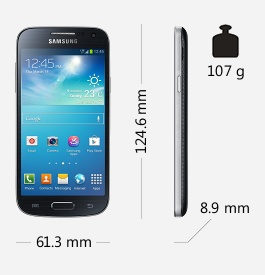 Parametry smartphonu Samsung Galaxy S4 mini